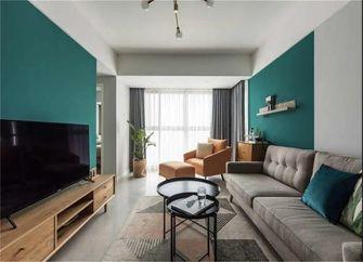 80平米一室一厅北欧风格客厅装修效果图