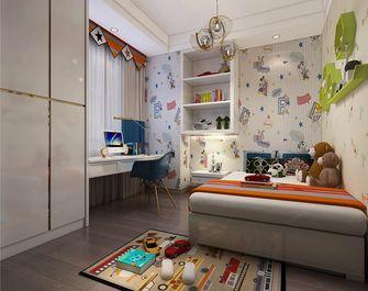 120平米三室两厅混搭风格儿童房装修案例