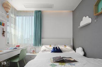 100平米三室一厅现代简约风格儿童房图