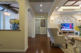 90平米三室两厅田园风格走廊装修案例