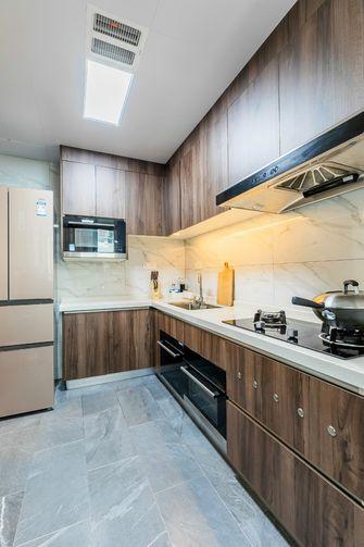110平米三室两厅中式风格厨房图片大全