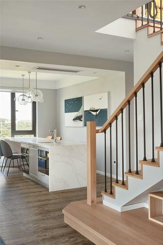 140平米复式混搭风格楼梯间装修效果图