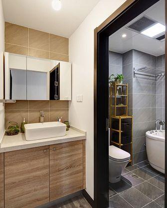 90平米复式北欧风格卫生间浴室柜效果图