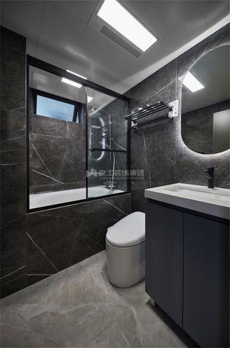 豪华型130平米三室一厅现代简约风格卫生间图片