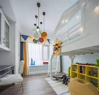 90平米三室一厅美式风格儿童房效果图