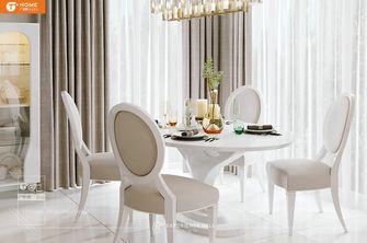 3万以下140平米别墅法式风格餐厅图片