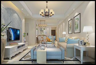 110平米四室四厅欧式风格客厅图