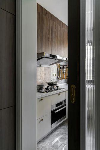 130平米三室一厅美式风格厨房装修图片大全