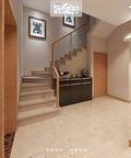 豪华型140平米别墅现代简约风格楼梯装修图片大全