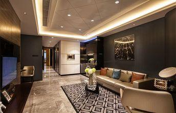 80平米公寓现代简约风格客厅装修案例