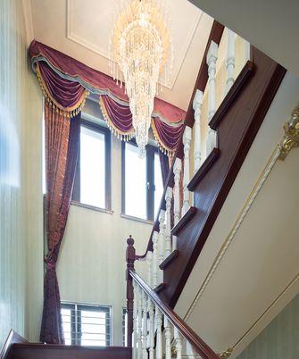 豪华型140平米三室两厅新古典风格楼梯图