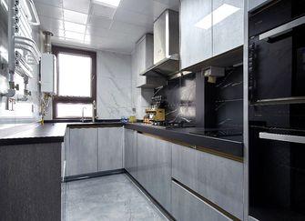 120平米三室一厅现代简约风格厨房图