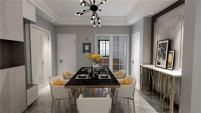 130平米四室一厅现代简约风格餐厅欣赏图