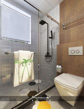 60平米公寓北欧风格卫生间图片大全