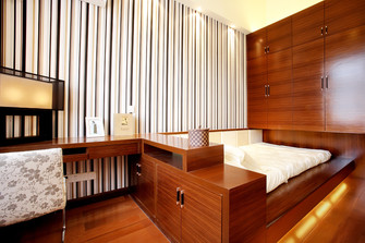 豪华型140平米别墅东南亚风格儿童房图片大全