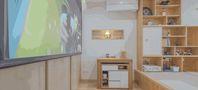110平米三田园风格客厅欣赏图