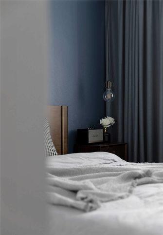 5-10万90平米三室一厅现代简约风格卧室装修案例
