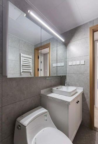 60平米一室两厅北欧风格卫生间装修图片大全