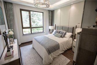 90平米现代简约风格卧室效果图