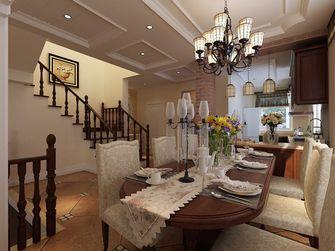 140平米别墅田园风格餐厅图片大全