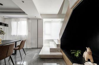 140平米三室两厅现代简约风格楼梯间装修图片大全
