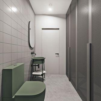 90平米三室五厅现代简约风格卫生间图