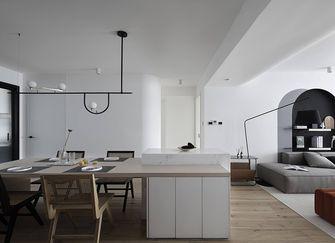110平米三室三厅混搭风格餐厅图