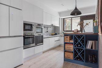 120平米三室两厅英伦风格厨房图片大全