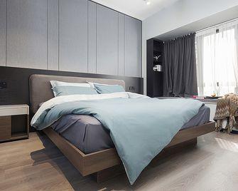 120平米英伦风格卧室装修效果图