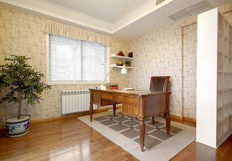 140平米三室两厅田园风格书房装修案例