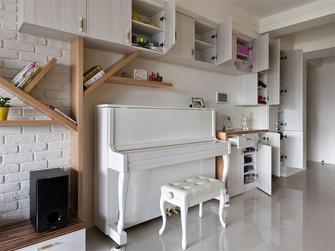 80平米三室五厅现代简约风格客厅装修效果图
