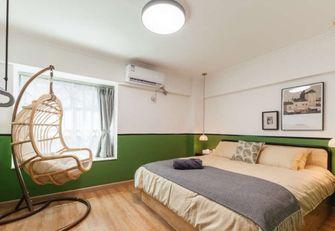 70平米三室三厅东南亚风格卧室设计图