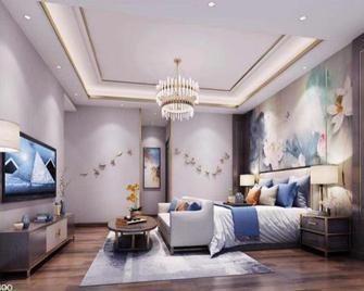 豪华型140平米别墅现代简约风格卧室欣赏图