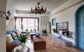 140平米复式地中海风格客厅装修效果图