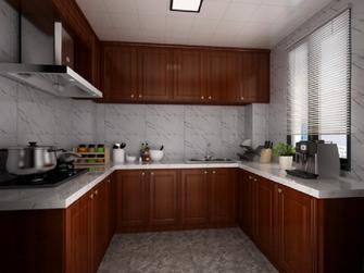 70平米三中式风格厨房装修案例