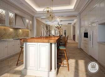 140平米别墅新古典风格餐厅设计图