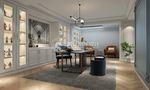 120平米别墅法式风格书房装修案例