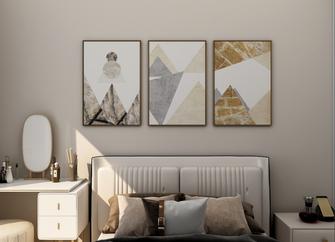 50平米现代简约风格卧室欣赏图