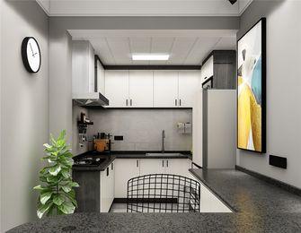 60平米公寓现代简约风格厨房效果图