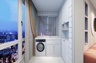 富裕型110平米三室两厅混搭风格阳台图片