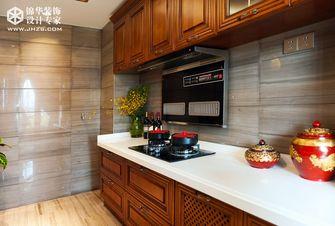90平米三室两厅东南亚风格厨房效果图