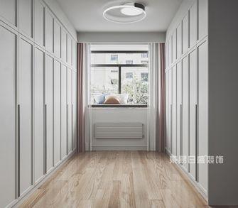 110平米三室两厅现代简约风格衣帽间欣赏图