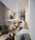 40平米小户型美式风格楼梯间装修案例