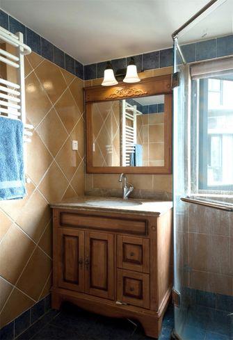 120平米三室三厅美式风格卫生间装修效果图