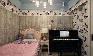 120平米三室一厅美式风格卧室图片大全