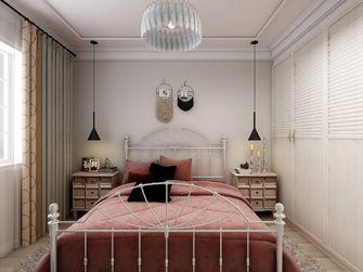 100平米田园风格卧室设计图