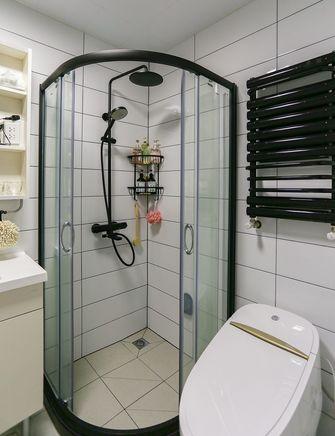 60平米一室一厅中式风格卫生间设计图