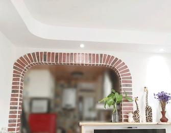 60平米公寓地中海风格厨房欣赏图