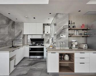 110平米三室两厅混搭风格厨房设计图