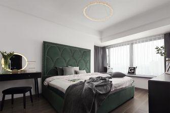 130平米三室三厅混搭风格卧室设计图